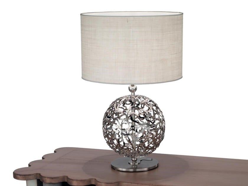 Lampada da tavolo in metallo WEAVE | Lampada da tavolo in metallo by IDL EXPORT