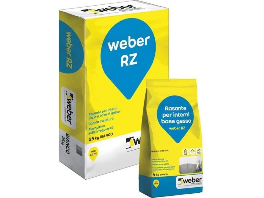 Rasante per intonaco WEBER RZ by Saint-Gobain Weber