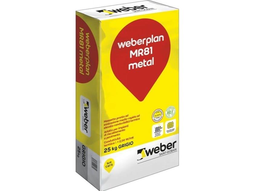 WEBERPLAN MR81 METAL