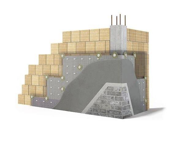 Sistema per isolamento esterno WEBERTHERM ROBUSTO UNIVERSAL by Saint-Gobain Weber