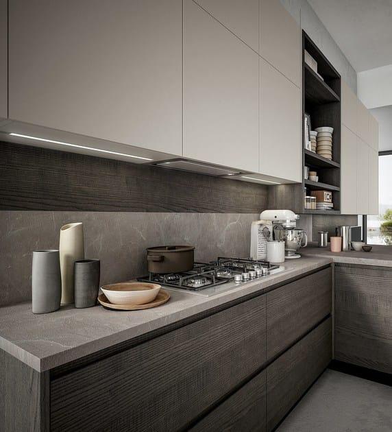 Cucina componibile con maniglie integrate WEGA By ARREDO 3