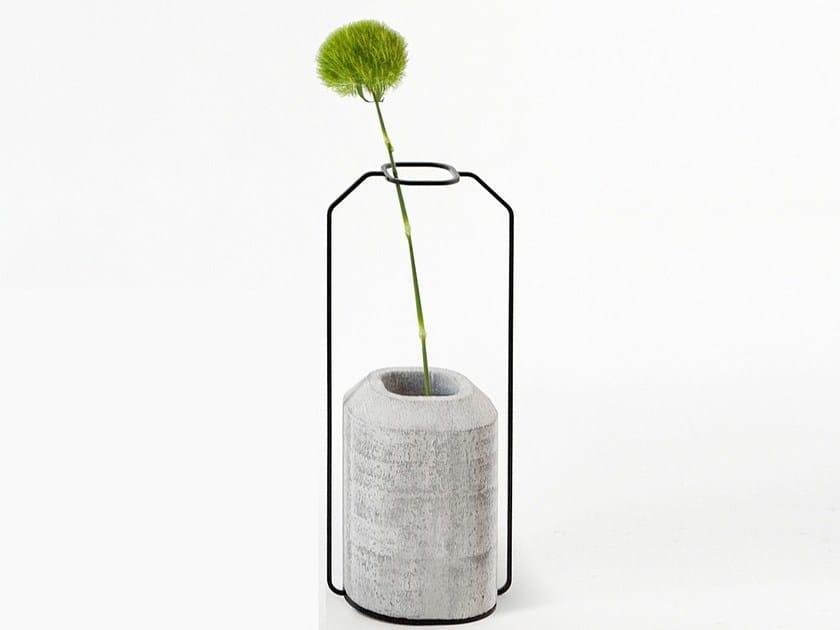 Cement vase WEIGHT VASE C by Specimen Editions
