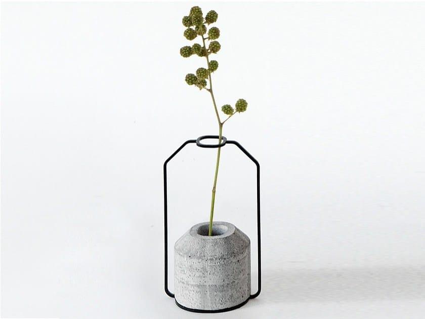 Cement vase WEIGHT VASE D by Specimen Editions