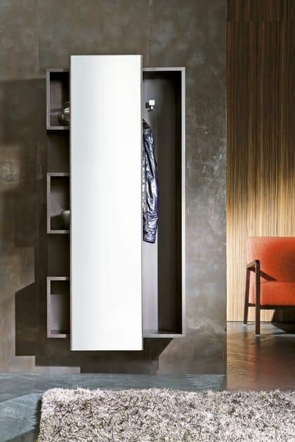 Mobile da ingresso in fibra di legno a parete WELCOME | Mobile da ...