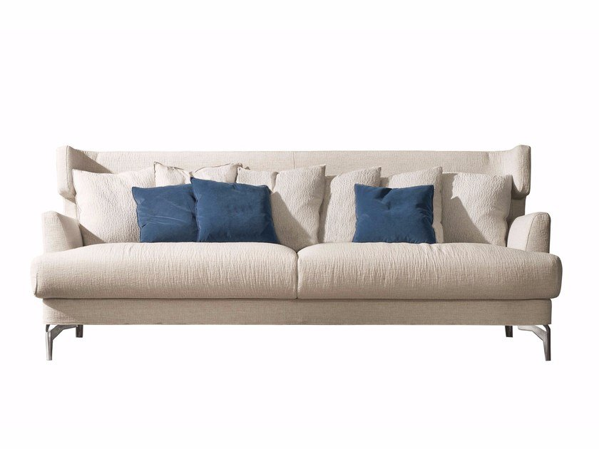 Fabric sofa WELL SOFT by CTS SALOTTI