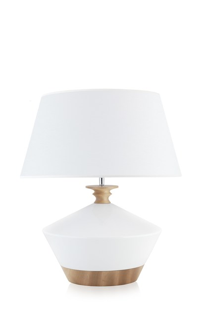 Contemporary style ceramic table lamp WENDA by ENVY