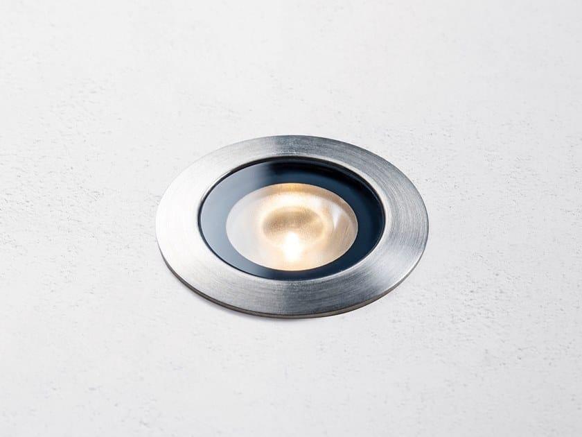 Segnapasso a LED in acciaio inox per esterni WET by HER