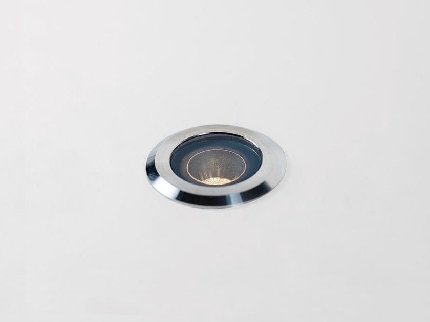 Segnapasso a LED in acciaio inox per esterni WET MINI by HER