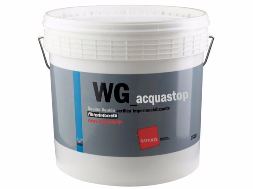 Liquid waterproofing membrane WG_acquastop by Gattocel Italia