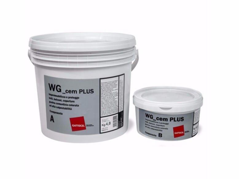 Cement-based waterproofing coating WG_cem PLUS by Gattocel Italia