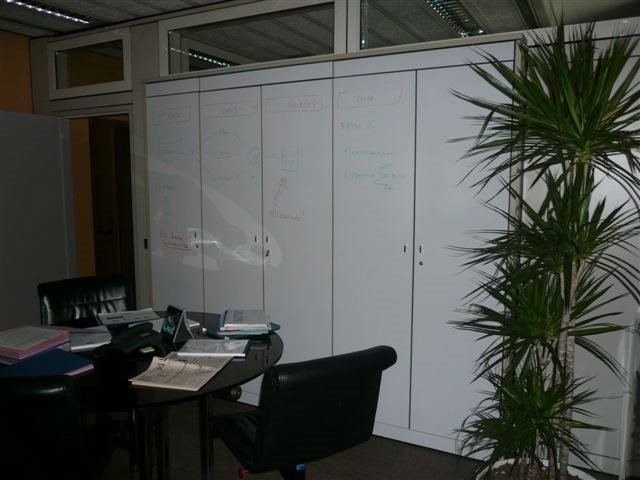 Office whiteboard WH-200 by 3M Italia