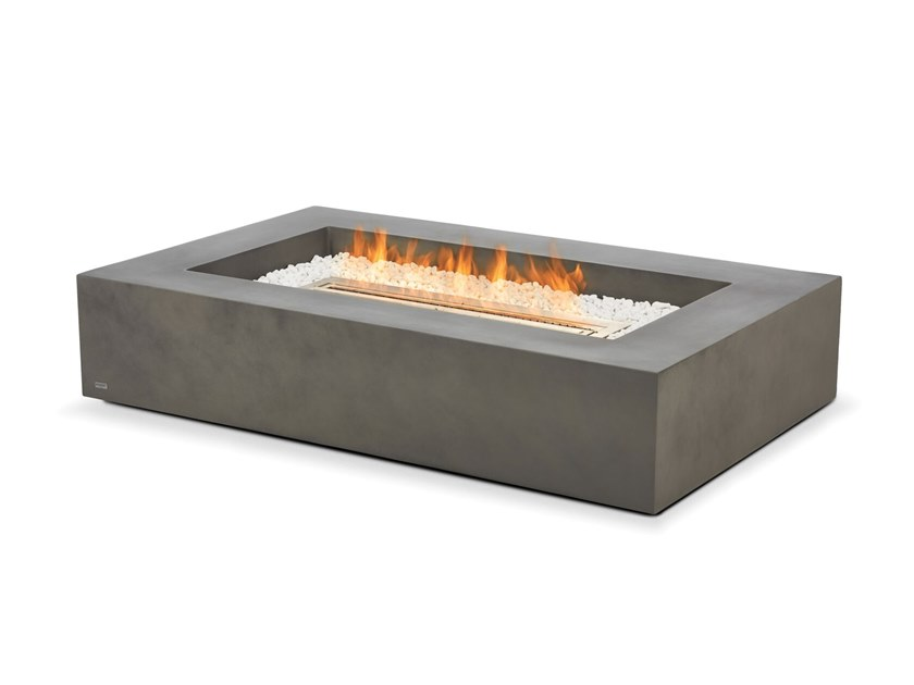 Wharf Fire Table - Natural by EcoSmart Fire