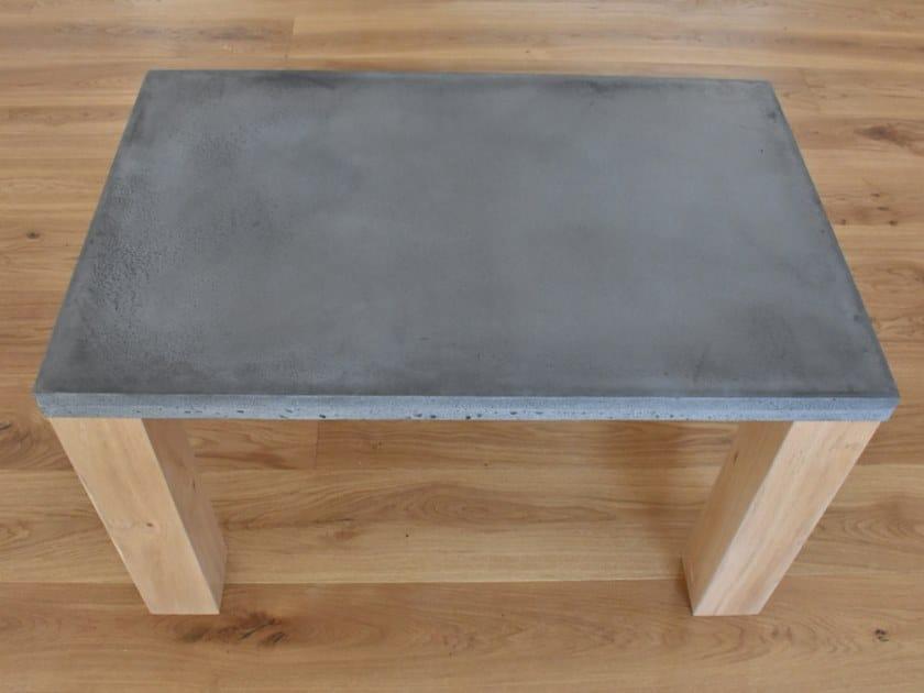 Rectangular concrete coffee table WHELP by betton