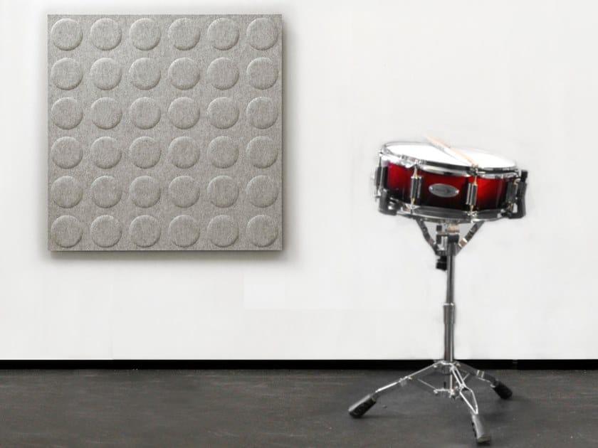Pannello acustico a parete in lana WHISPERWOOL OBLONG   Pannello acustico a parete by Tante Lotte