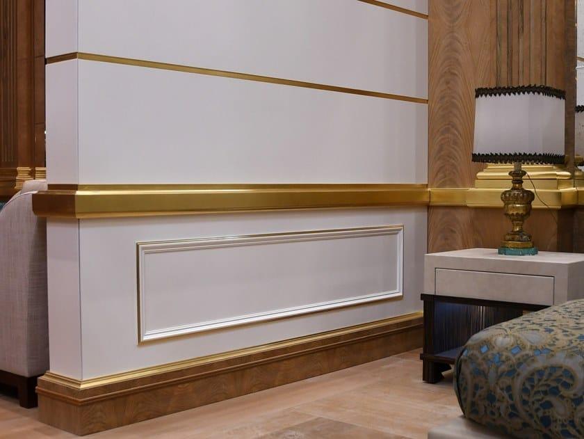Boiserie in legno WHITE BOISERIE by Arnaboldi Interiors