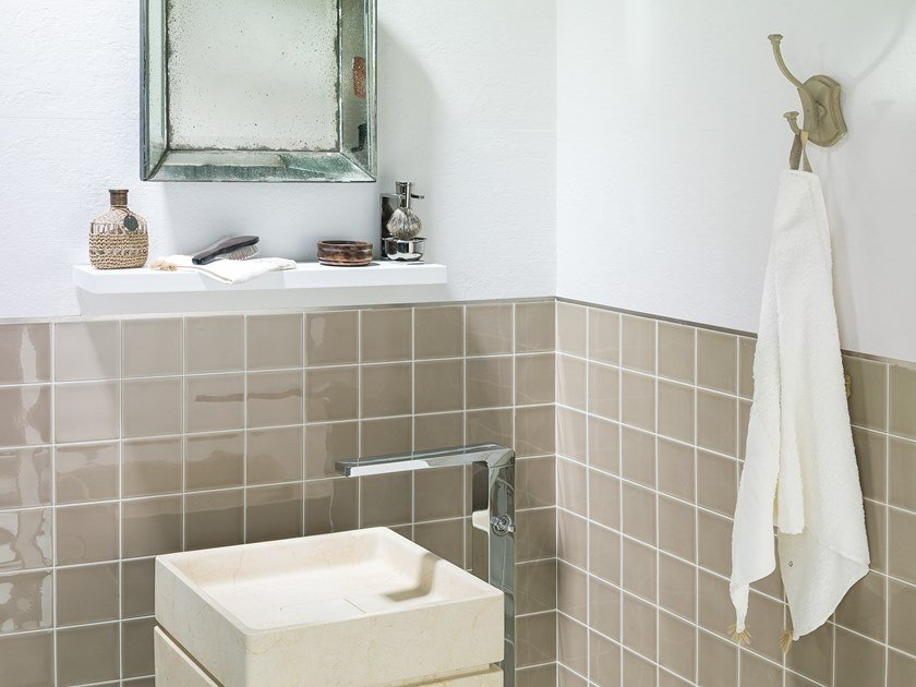 Wall Cladding WHITE & COLORS - SEVILLA BEIGE by Porcelanosa