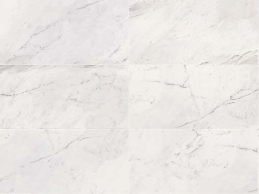 Porcelain stoneware wall/floor tiles with marble effect WHITE EXPERIENCE Statuario by Italgraniti