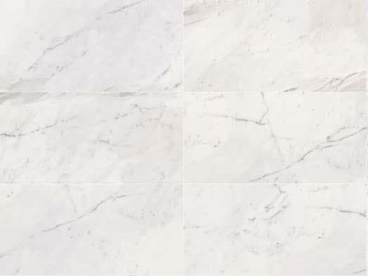 Pavimento/rivestimento in gres porcellanato effetto marmo WHITE EXPERIENCE Statuario by Italgraniti
