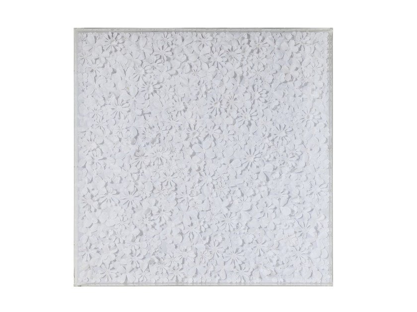 Decorative panel WHITE FLOWER by KARE-DESIGN