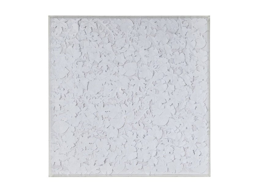 Pannello decorativo WHITE LEAVES by KARE-DESIGN