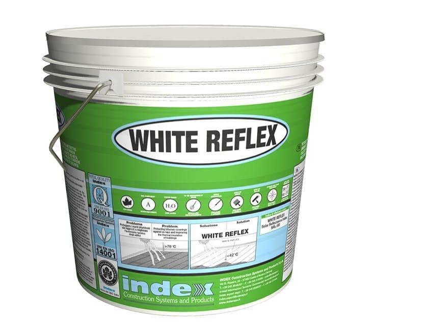 Pittura ultrariflettente per il raffreddamento degli edifici WHITE REFLEX by INDEX
