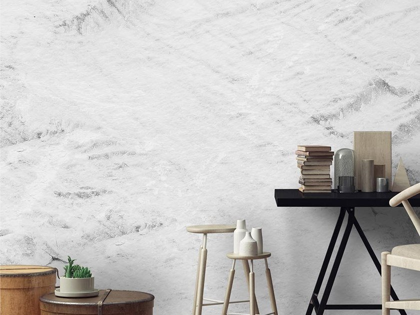 Papel de parede liso WHITE SEA by Wallpepper Group