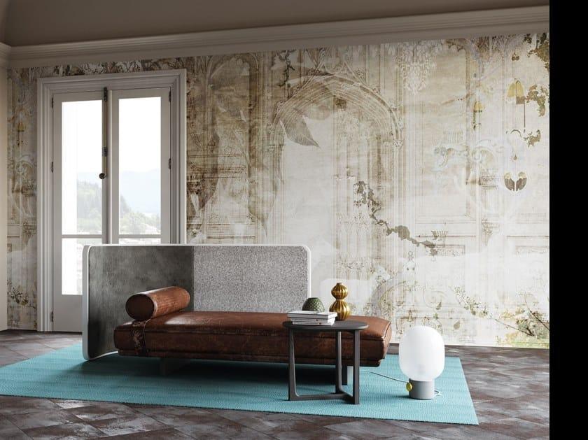 Nonwoven wallpaper WHITE by Tecnografica