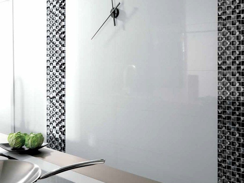Indoor ceramic wall tiles WHITES | STAR by Venis