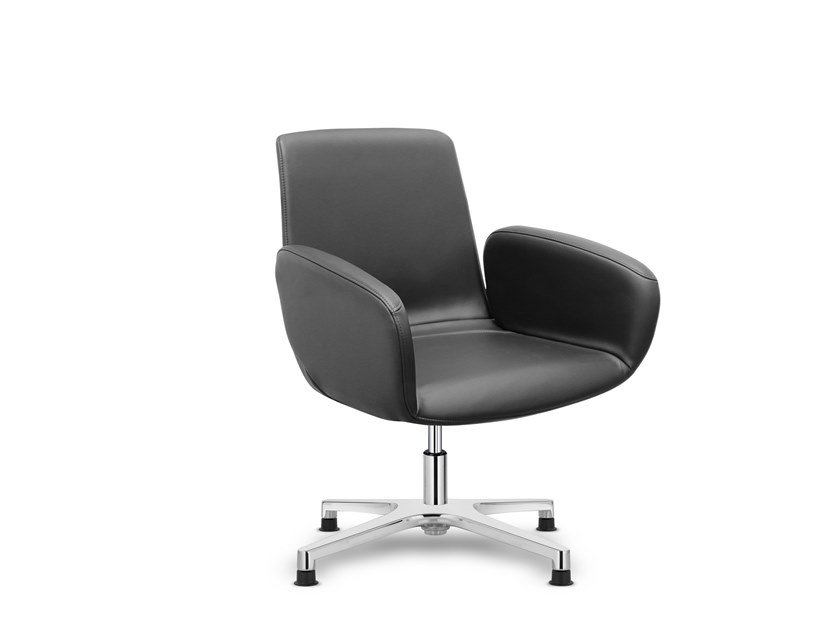 Swivel chair with 4-spoke base WHY NOT | Chair with 4-spoke base by Sitland