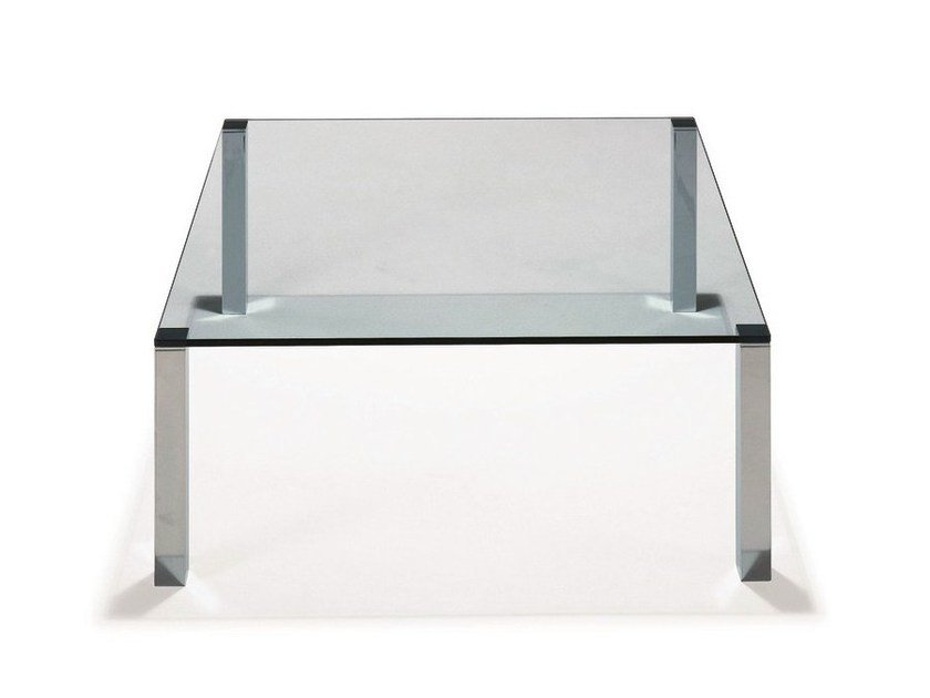Glass coffee table WHY NOT by Draenert
