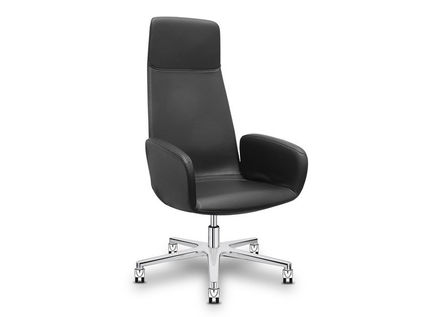 High-back executive chair with 5-spoke base WHY NOT | Executive chair by Sitland