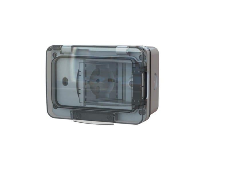 Presa elettrica WIDE IP67 by 4 BOX