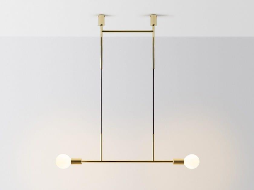 Lampada da soffitto a led wide step by volker haug studio