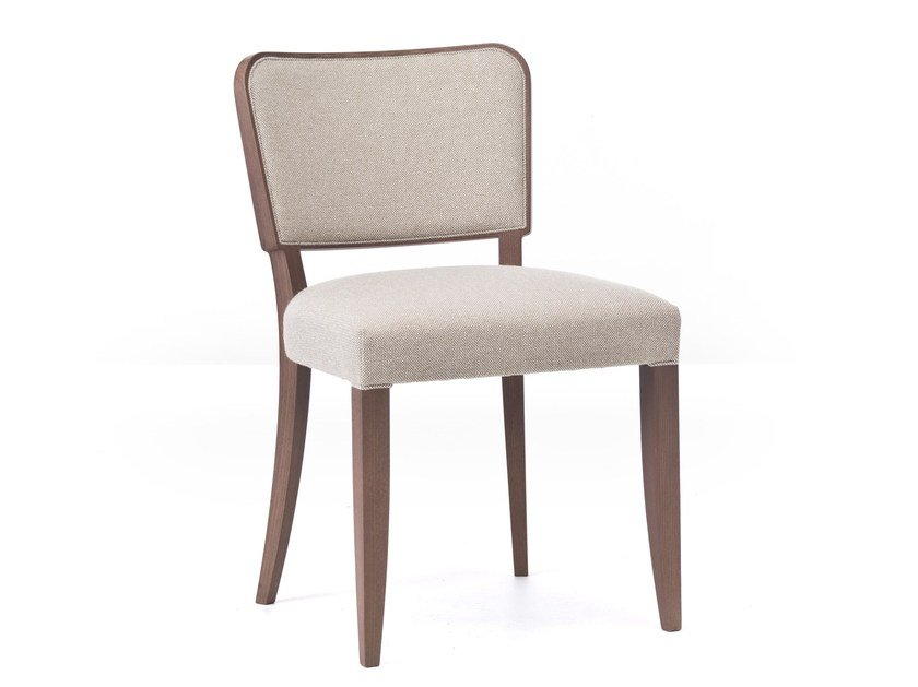 Upholstered fabric chair WIENER 01 by Very Wood