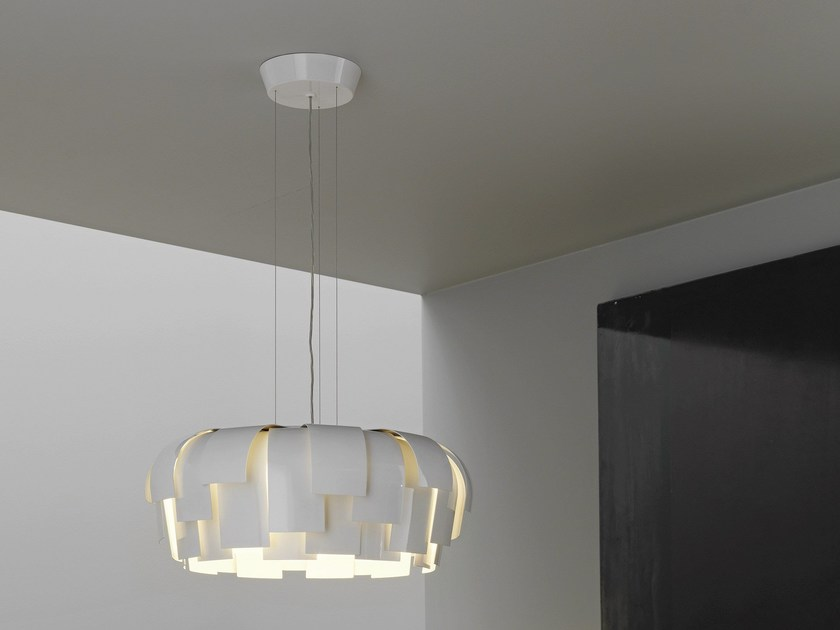 Metal pendant lamp WIG by FontanaArte