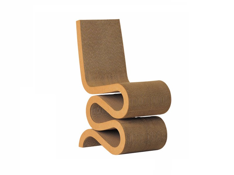 Cardboard Chair Wiggle Side Chair Easy Edge Collection By Vitra