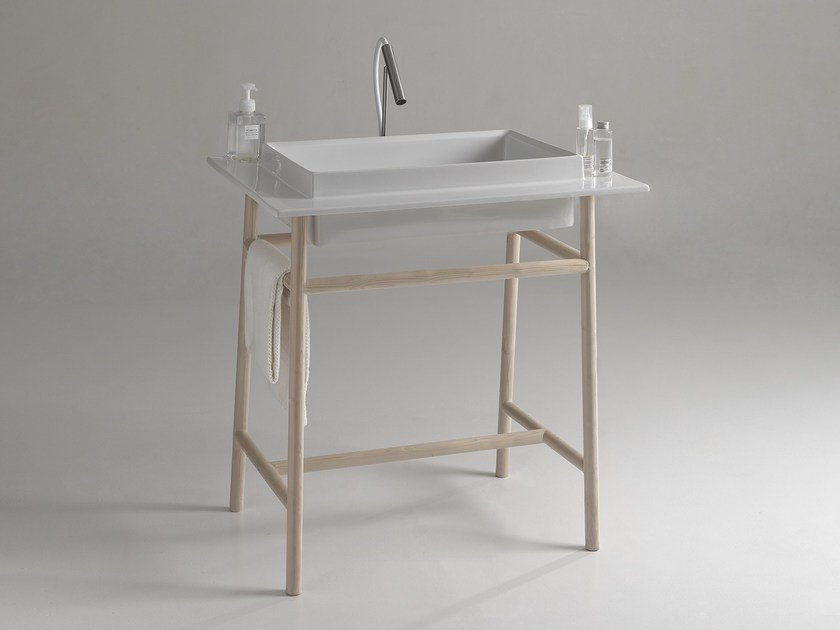 Lavabo a consolle WILD 800 | Lavabo a consolle by BLEU PROVENCE
