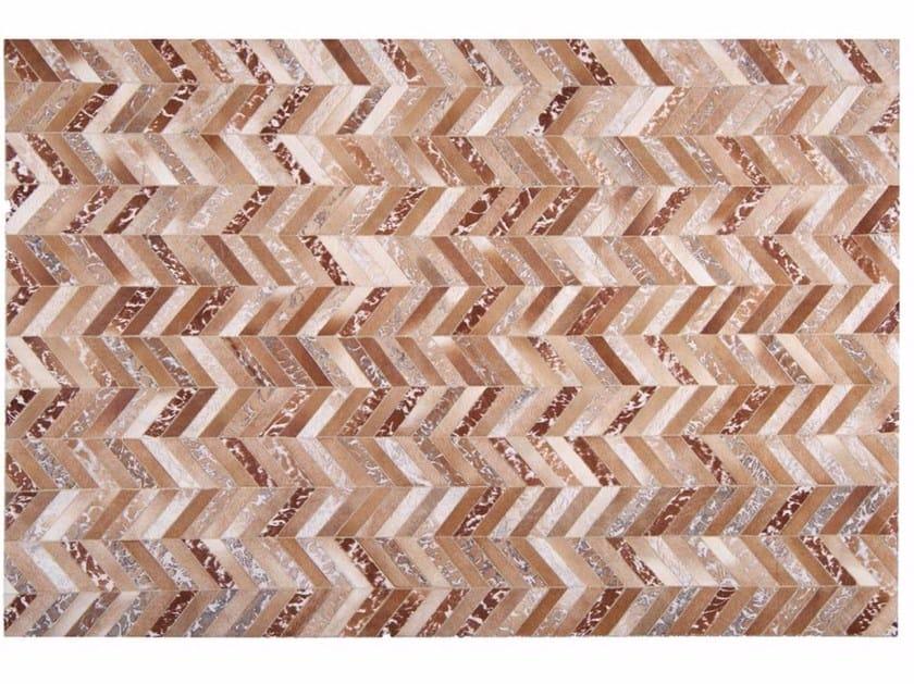 Rectangular cowhide rug WILD by Toulemonde Bochart