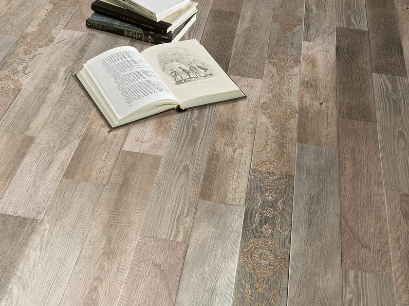 Glazed stoneware flooring with wood effect WILD WOOD | Flooring by Serenissima