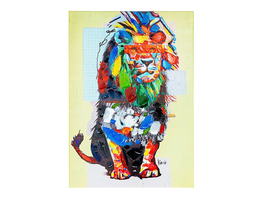 Stampa su tela WILDLIFE LION by KARE Design