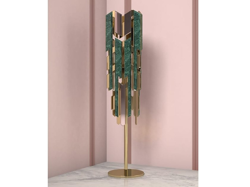 Marble floor lamp WILLOW by Creativemary