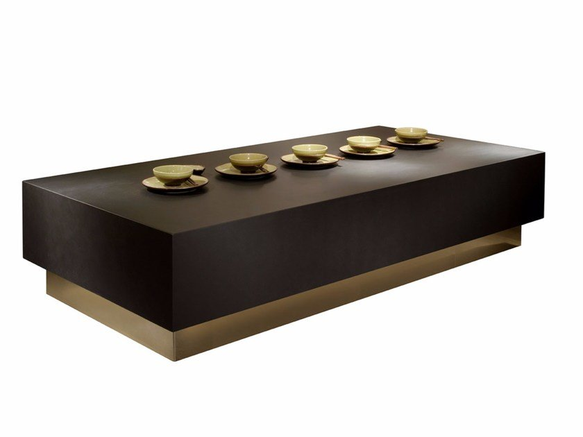 Rectangular coffee table for living room WILLY | Rectangular coffee table by SOFTHOUSE