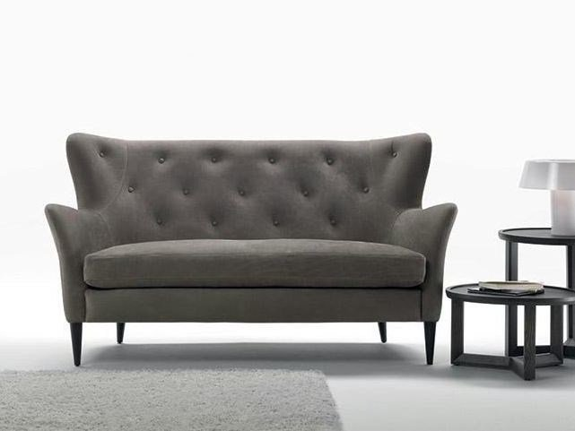 Tufted 2 seater fabric sofa WILSON | 2 seater sofa by Marac