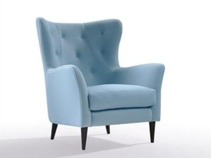 Fabric armchair with armrests WILSON | Fabric armchair by Marac