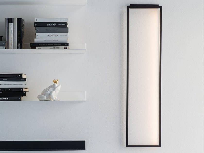 LED indirect light metal wall lamp WINDOW by Adriani e Rossi edizioni
