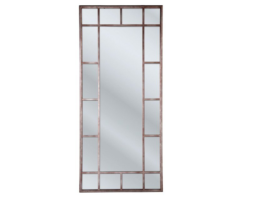 Rectangular framed mirror WINDOW IRON by KARE-DESIGN