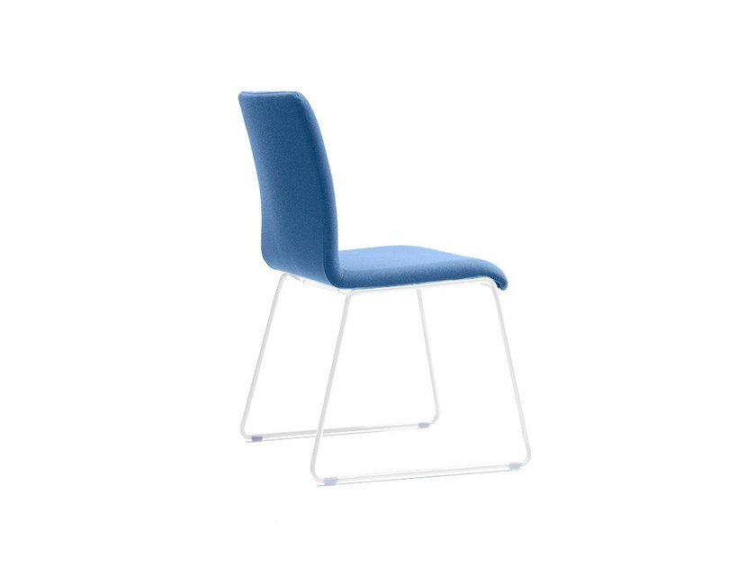 2 Sled base stackable chairs WING 900-FP by delaOliva