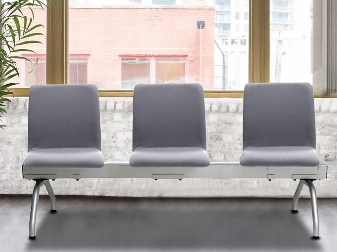 Freestanding fabric beam seating WING B-900 by delaoliva