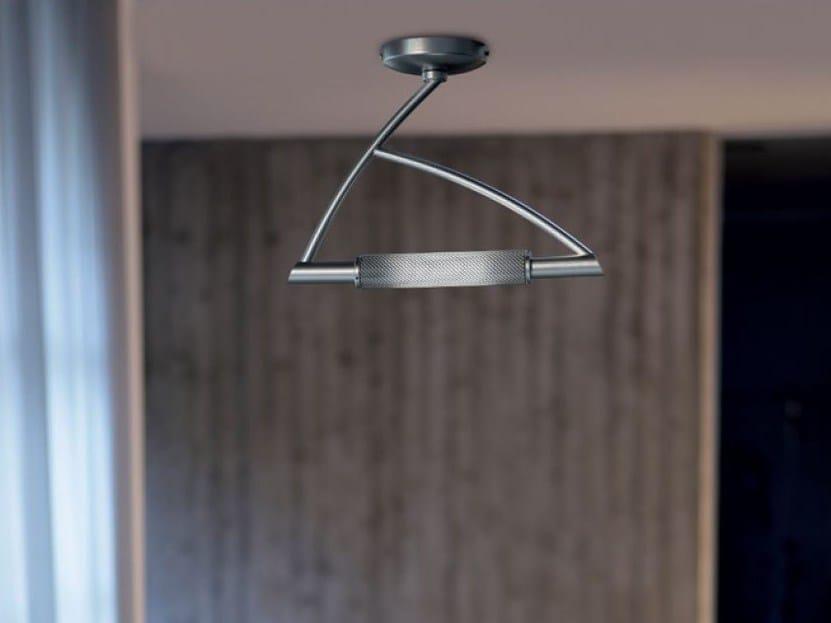 Metal ceiling lamp WING | Ceiling lamp by PANZERI