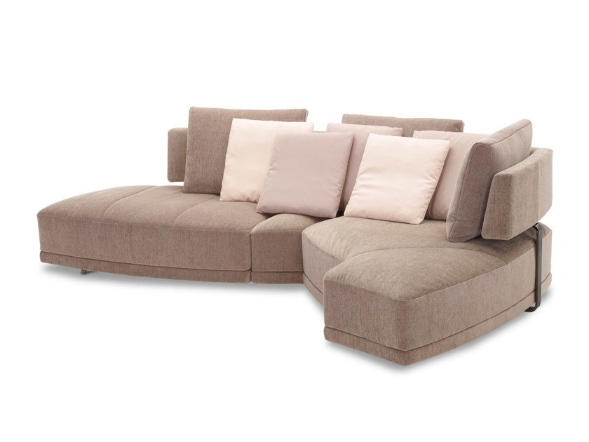 Convertible fabric sofa WING - DIVANBASE By JORI design Hugo de Ruiter
